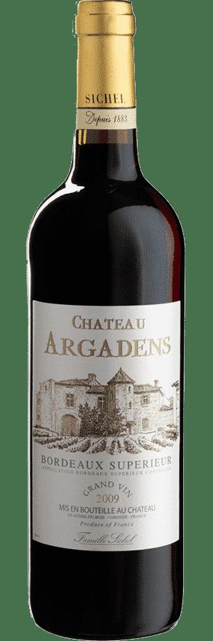 Ch. d'ARGADENS 09 _ 11 Bordeaux Superieur 2009_ 2011 75cl