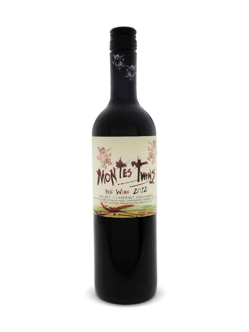 Montes TWINS Malbec Cabernet Sauvignon 11 _ 12 2011_2012 75cl