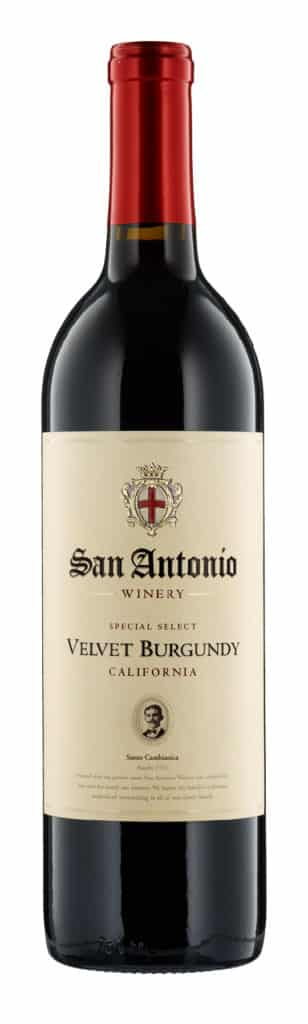 San Antonio Velvet Burgundy